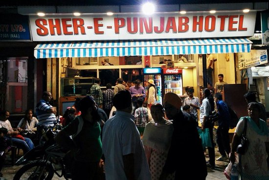 Sher-E-Punjab Restaurant: Waiting queue at the restaurant, imagine how would the food be , will leave the review soon .