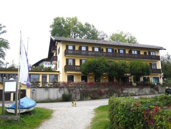 Gasthof Hotel Seehof: Frontansicht Hotel Seehof Rimsting