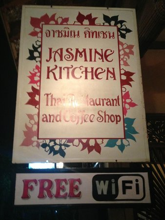 Jasmine Kitchen : tucked away on a side street