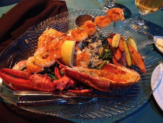 Catch 22: lobster platter