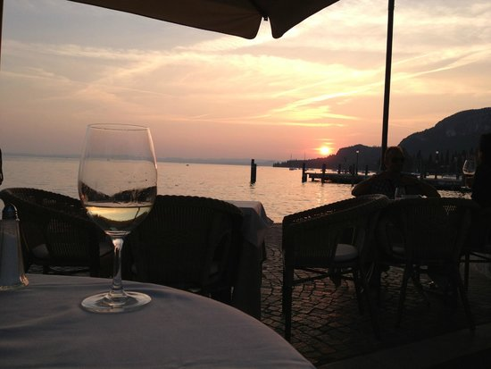 Sunset in Garda - Picture of Hotel Excelsior le Terrazze, Garda ...