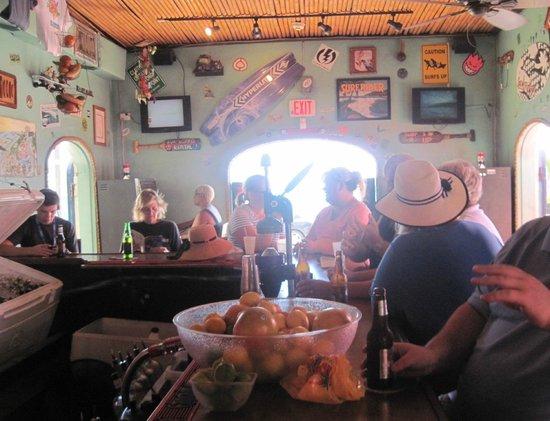 Big Kahuna Rum Shack : Inside the establishment