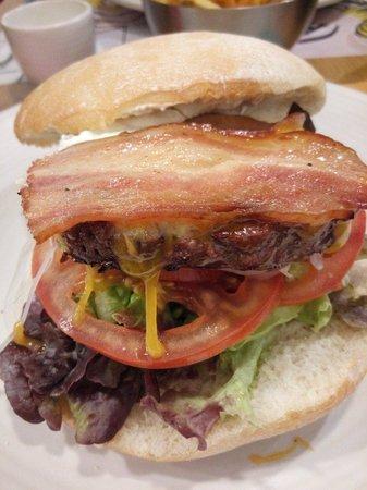 Burgerheim : Hamburguesa.