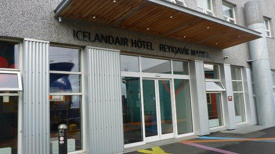 Icelandair Hotel Reykjavik Marina : Eingang Hotel