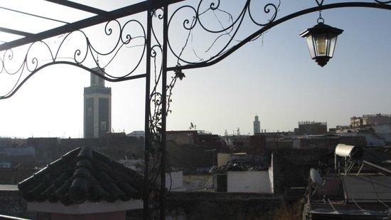 Ryad Zahraa: Vedute dal terrazzo