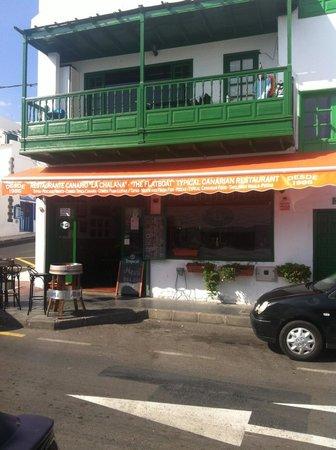 Restaurante La Chalana: Front