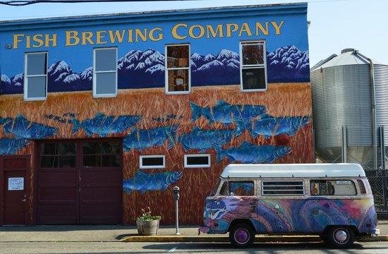 Fish Tale Brew Pub: The Brewery