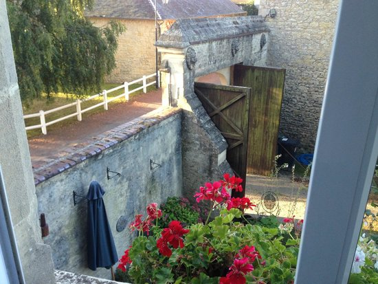 Manoir des Doyens: view from the third floor