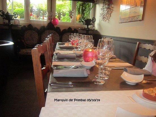 Le Marquis de Pombal : Table