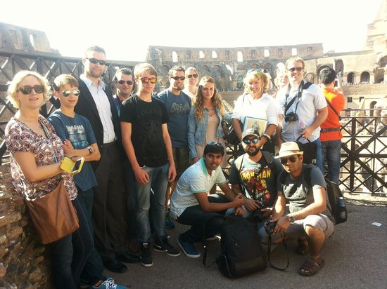 Italy With Us: Lovely Colosseum tour with Kathy