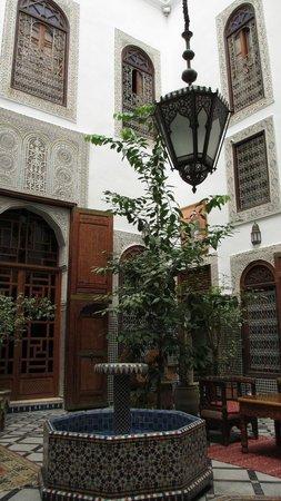 Riad Ghita: dettagli dell'interno del riad