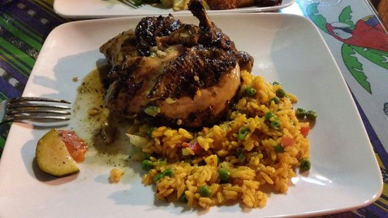 Senor Siesta: Trinidad Style chicken and rice