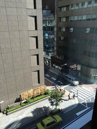 Solaria nishitetsu hotel Ginza: View Outside of Window