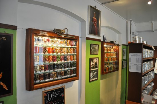 Somods Bolcher (Candy Factory): Candy's display