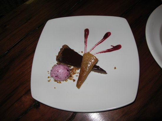 The Palm Restaurant: Chocolate Tart