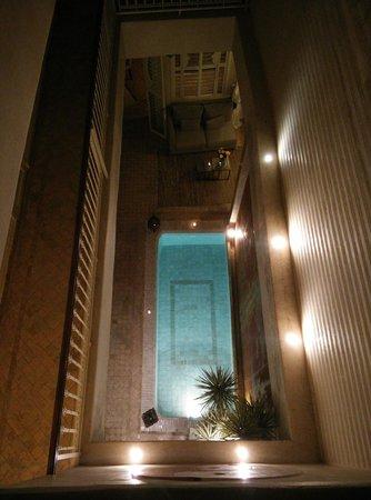 Riad Cocoon: La vue depuis la terrasse