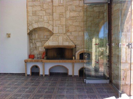 Caldera Villas : BBQ Area - excellent if you have a full property