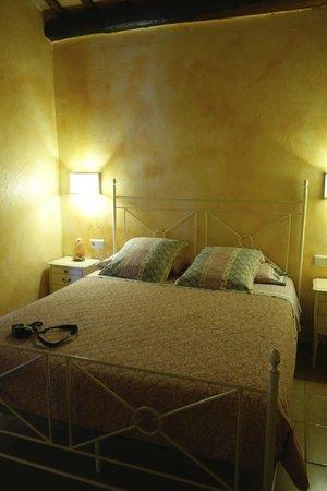 El Moli de Siurana: Our room at El Moli