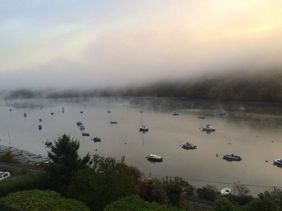 The Cormorant Hotel : early morning from bedroom