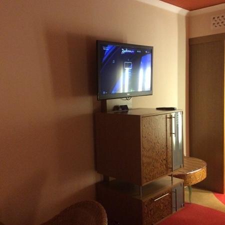 راديسون بلو هوتل لندن ستانسدتيد إيربورت: tv e mobile bar