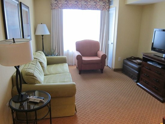 Homewood Suites Denver International Airport: Living room