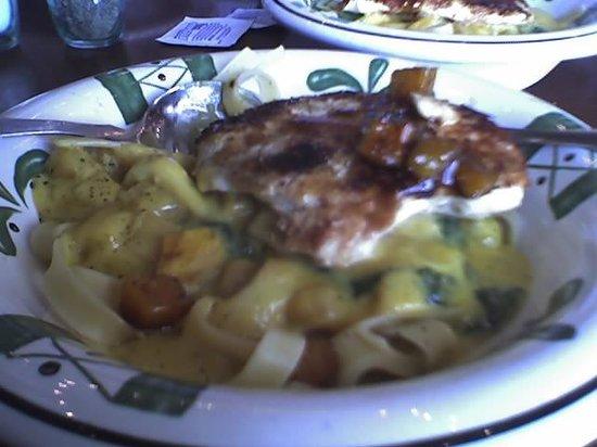 olive garden chicken squash alfredo - Olive Garden Bangor