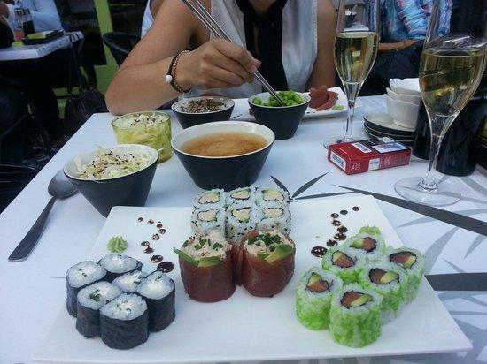 Samouraï Sushis : Assortiment de sushis