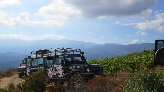 Safari Adventures: Our jeep on the way