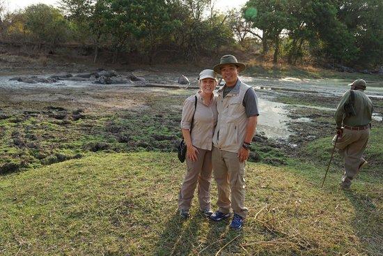 Luwi Bush Camp - Norman Carr Safaris: walking safari