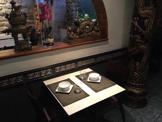 L'Apsara : Super Resto ! Une petite table en amoureux par là ;)