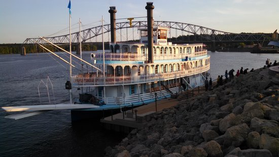 At Port In Dubuque Iowa  Picture Of Riverboat Twilight Le Claire  TripAdvisor