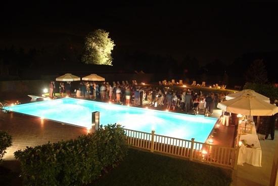UNA Golf Hotel Cavaglia: Summer Swimming Pool