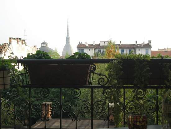 All'Orso Poeta : view from the balcony
