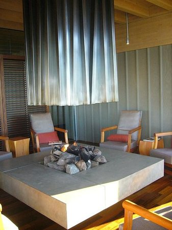Salishan Spa and Golf Resort: Spa Seating Area