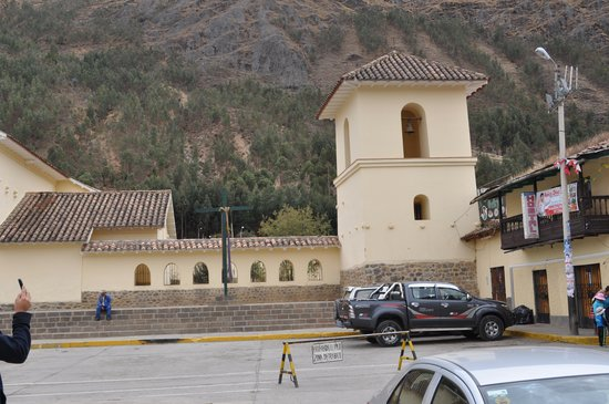 Ocongate, Peru: Iglesia de San Pablo de Oncogate, belltower