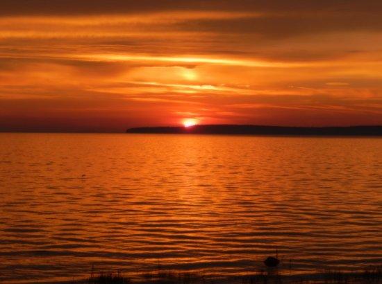 Quality Inn Lakefront: Lake view