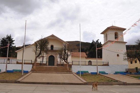 Urcos, Perù: Iglesia de San Juan Bautista de Ccatcca