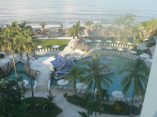 Hard Rock Hotel Vallarta: Just a small part of this wonderful pool and beach...