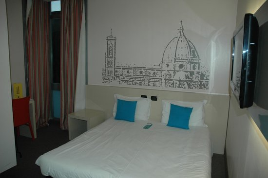 B&B Hotel Firenze City Center : Habitación