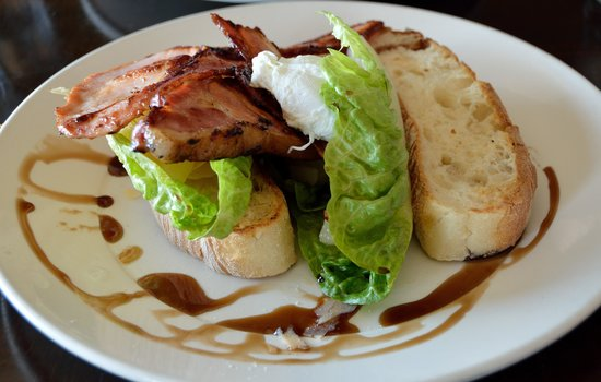 Blue Mini - Eatery, Emporium and Events: Pork and bacon