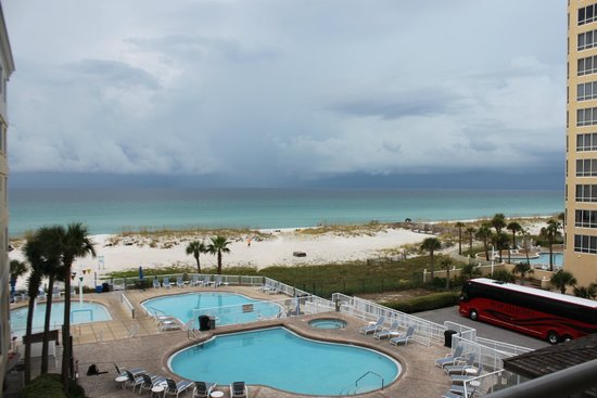 SpringHill Suites Pensacola Beach: View from our room!