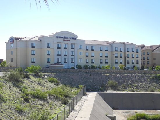 SpringHill Suites El Paso: From Leos Parking lot next door