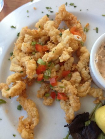 Dinky's Restaurant: So fresh and tender: clam strips