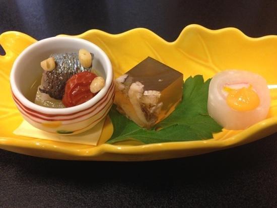 Asakusa Imahan Kokusai Dori Honten : Appetizer at Asakusa Imahan.