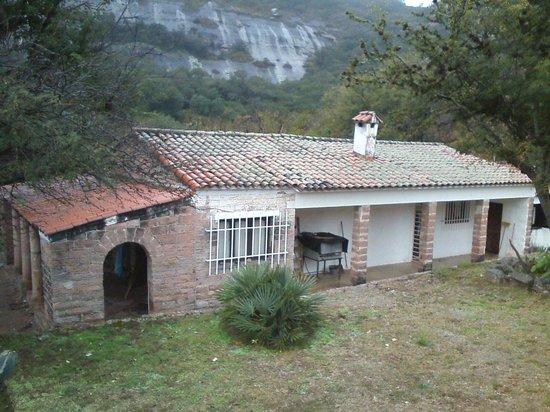 Cerro Colorado, Argentyna: Vista de la Casa