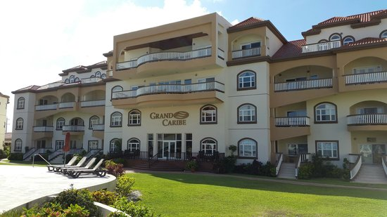 Grand Caribe Belize Resort and Condominiums: ENTRADA RECEPCION