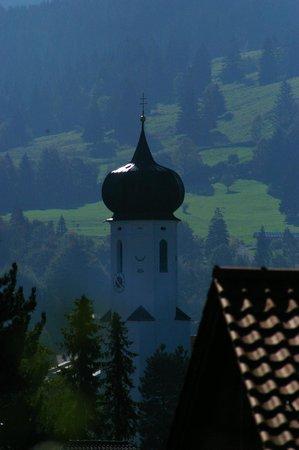 Hotel Alpenblick Berghof: Vista do quarto