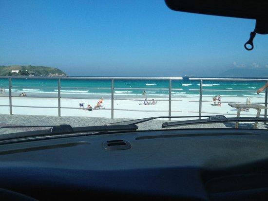 Praia das Conchas: Descanço após almoço com esta vista sempre bom!