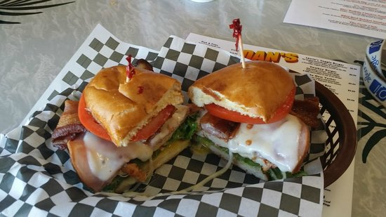 Dan's Grub Shack : The Sandwiches are a real mouthful and so fresh