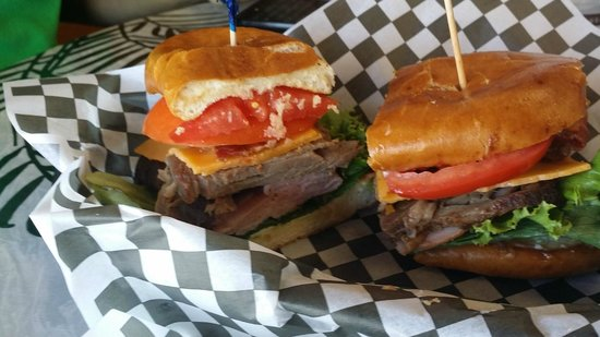 Dan's Grub Shack : Terrific Sandwiches - So Filling and Tasty
